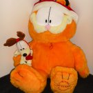 Garfield the Cat Odie Dog Plush Toy Doll Lot Santa 25 Years Slinky Baseball Suction Cup Paws Holiday