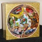 Vintage Motor and Cycle Racing 500 Piece Circular Round Jigsaw Puzzle Springbok GB2 GB-2 Sealed