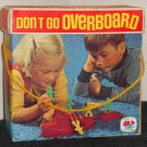 Vintage 1971 Don't Go Overboard Game Schaper 470 Tugboat Sailors Magnets Spinner Dice