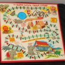 1957 Happy Little Train Game Board Replacement MB Milton Bradley 4959
