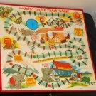Vintage Happy Little Train Game Board 1957 Replacement MB Milton Bradley 4959