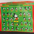 Mickey Mouse Postures 100 Piece Jigsaw Floor Puzzle Jaymar 1706 SEALED Walt Disney
