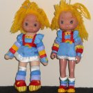 Rainbow Brite 8 Inch Doll Lot Hallmark Cards 1983
