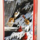 Birdwatchers 1000 Piece Jigsaw Puzzle FX Schmid Cats Cardinals 90162 Factory Sealed 1994
