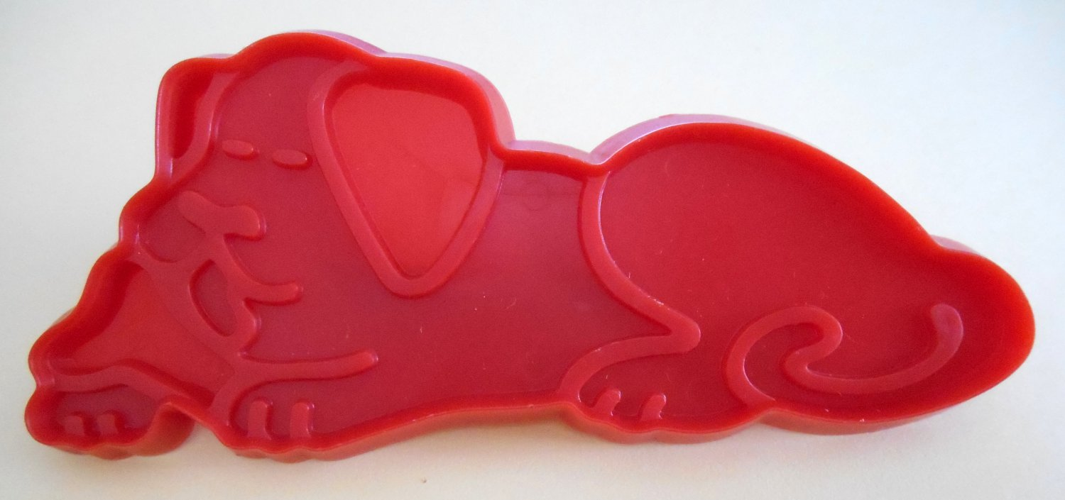 Old MacDonald's Dog Plastic Cookie Cutter McDonald's Chilton 1979 Aluminum Specialty Company