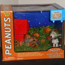 Peanuts Halloween Snoopy World War I Flying Ace It's The Great Pumpkin Charlie Brown Deluxe Playset