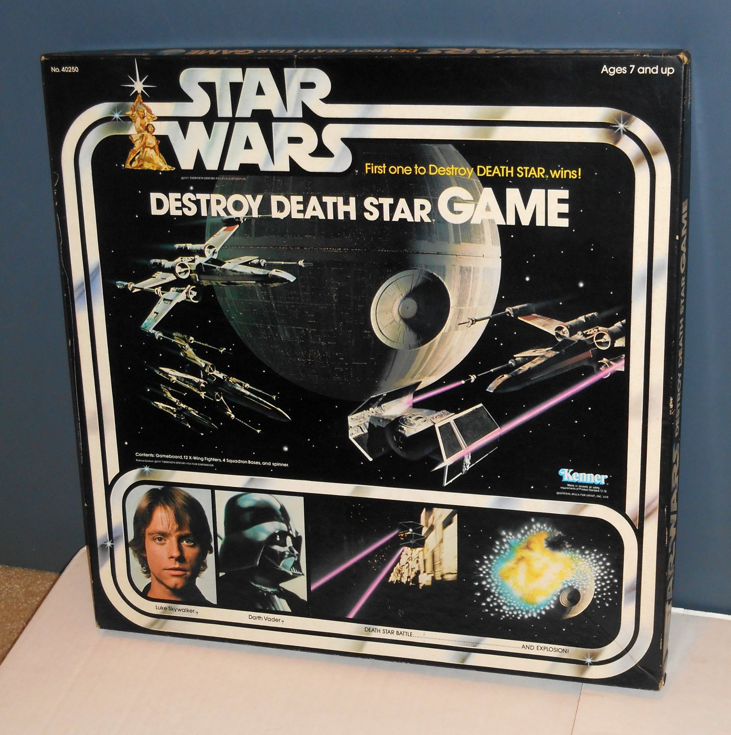 SOLD OUT Vintage 1978 Star Wars Destroy Death Star Board ...