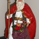 KSA Fabriche Santa Figure St Nicholas the Bishop 12 Inch Figurine Kurt Adler W1532