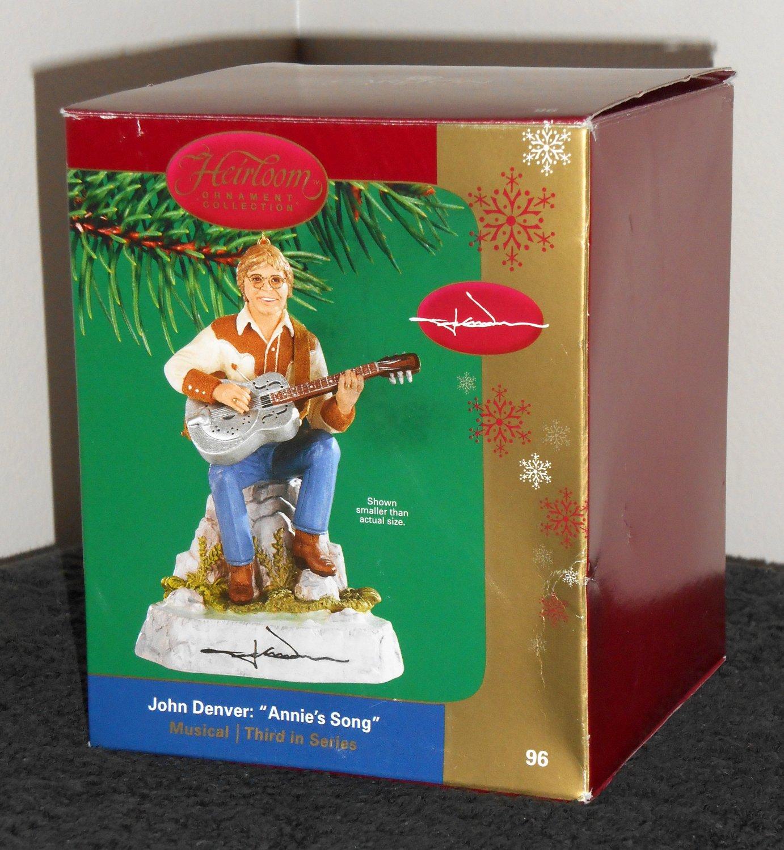 SOLD OUT John Denver Musical Carlton Heirloom Collection Christmas