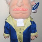 George Washington 15 Inch Plush Doll Figure Nationals Racing Presidents Presidential Mascot Geo MLB