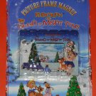 Rudolph & the Island of Misfit Toys Magnetic Picture Photo Frame Lot of 10 Bumbles Dolly Hermey NIP