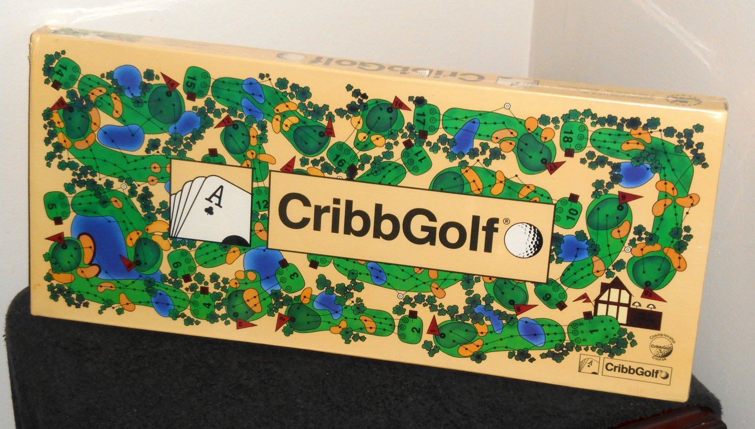 CribbGolf The Board Game of Cribbage and Golf 1992 New NIB Factory Sealed JK Games