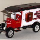 Matchbox YYM96509 Coca-Cola 1926 Ford Model TT Van Coke Die-Cast Vintage Vending Machine Edition NIB