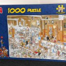 The Kitchen 1000 Piece Jigsaw Puzzle Jan Van Haasteren Jumbo 13049 NIB Sealed