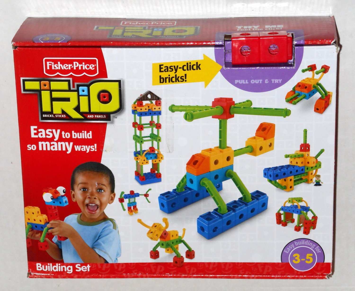 trio blocks - toy ping at mattel iconic gifts fisher price trio building set