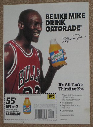 6aecb94c9ee4 Sports Athlete Promoted Coupon Inserts Original Newspaper Ads Michael Jordan  Nolan Ryan Montana