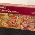 Springbok 700 Piece Jigsaw Puzzle The 12th Day of Christmas Panoramic PZL9807 Factory Sealed