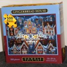 Eric Dowdle 500 Piece Jigsaw Puzzle Gingerbread House Folk Art Map Box NIB Sealed 16 x 20