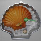 Wilton Sea Shell Mold Aluminum Cake Pan Scallop 2105-8250 with Insert Instructions