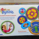 Gearation Magnets Tomy Set 6995 Gears Battery Powered Refrigerator Magnetic NIB