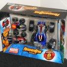 Marvel Universe Regener8'rs 3 Pack 824349 Captain America Spiderman Thor Transforming Vehicles NIB