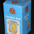 Tweety Pie Bird Ceramic Bell For A Very Special Mom Looney Tunes Warner Bros 2000
