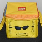 Lego Duplo Minifig Head Zipbin Zippered Carrying Case Storage Playmat Yellow Neat-Oh! 2010 Zip Bin