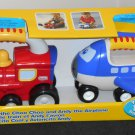 Little Tikes Handle Haulers 2 Pack Vehicles Coal the Choo Train Andy Airplane 643Y 152C 6488 NIP