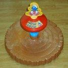 The Smurfs Smurf Around Hasbro Spin Sit Spinning Toy 1983 Peyo Smurfette With Instruction Sheet