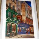 Liudmila Kondakova L'Escargot Limited Edition Serigraph Art Print 47/100 Signed 24 x 36 MAKE OFFER