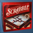 Deluxe Turntable Scrabble Crossword Game 4034 Rotating Board Burgundy Tiles Complete 2001
