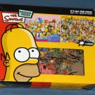 The Simpsons Pieceless Jigsaw Puzzle 2 Sided All One Piece Ceaco 14032-1