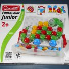 Quercetti FantaColor Junior Jr 4190 Intelligent Toys Italy Complete Set EUC