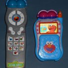 Elmo's World Cell Phone Telephone TV Remote Control Silly Sounds Sesame Street Electronic 90691