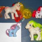 Li'l Lil Sweetcake My Little Pony Red Rainbow MLP Vintage Generation 1 1st Hasbro Baby Sister Ponies
