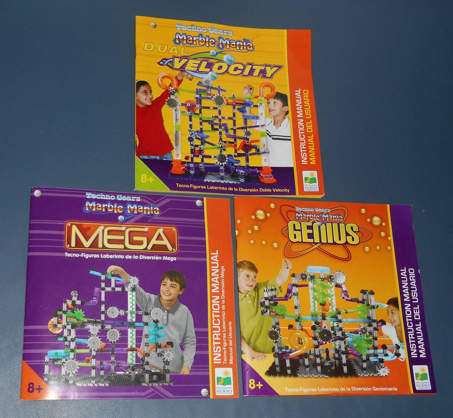 Techno Gears Marble Mania Lot Complete Sets Genius Mega