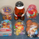 Mr Potato Head Daycare Lot 340+ Pieces Uncle Sam Disney Animals Storage Hats Eyes Noses Heads