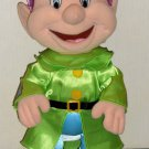Dopey Plush Doll 14 Inch Stand Alone Silky Satiny Look Snow White & Seven Dwarfs Disney