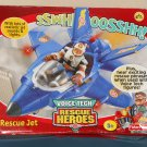 Fisher Price Voice Tech Rescue Heroes Jet 77473 Lights & Sounds New Open Box