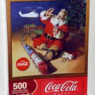 Springbok 500 Piece Jigsaw Puzzle Jolly Junction Coca Cola Coke 1JIG02502 Santa Claus Christmas NIB