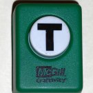 McGill Craftivity Paper Punch Letter T Upper Case Capital Scrapbooking