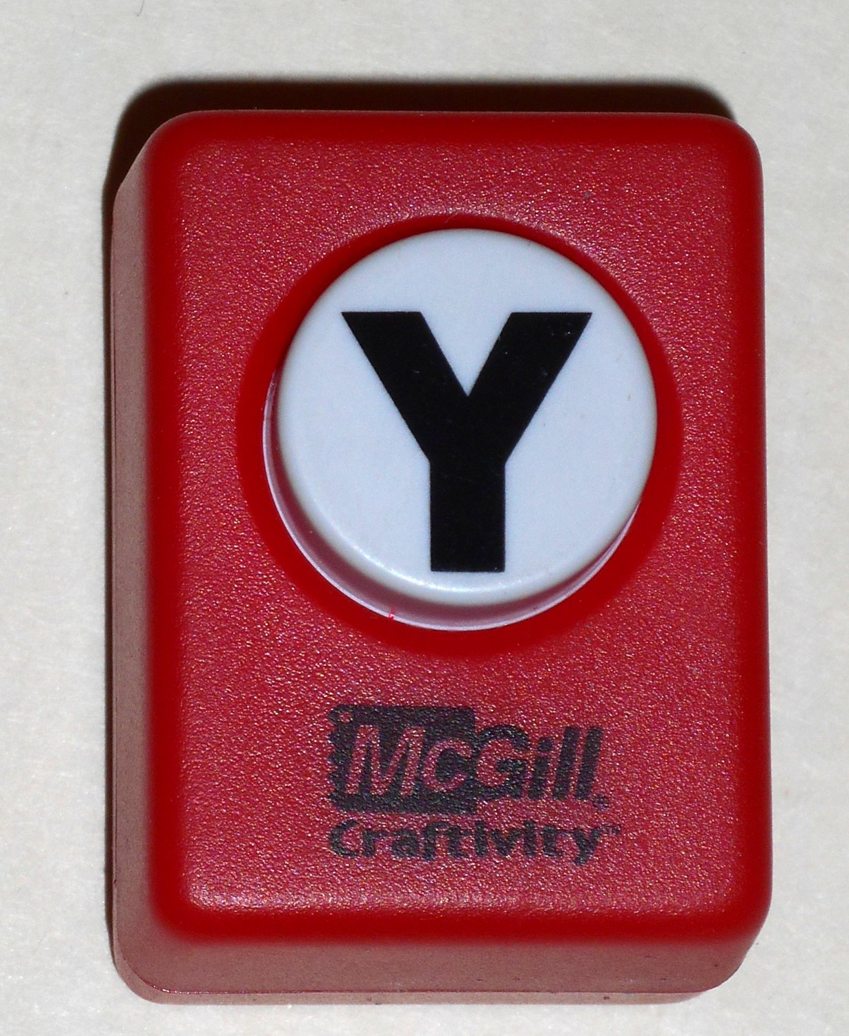 mcgill craftivity paper punch letter y upper case capital With letter m paper punch