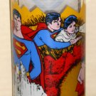 Superman the Movie Drinking Glass Tumbler Pepsi Cola Kal-el the Child Man of Steel DC Comics 1978