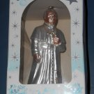 The Pope Blown Glass Christmas Ornament 5 Inch Catholic Church Poland NIB