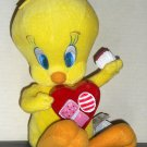 Tweety Valentine's Animated Singing Plush Doll 10 Inch I Want Candy Looney Tunes Gemmy Warner Bros