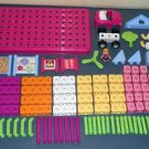 Fisher Price Girls Trio R8867 (2 Sets) Bricks Sticks Panels Building Pastel Storage 97 96 193 Pieces