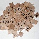 99 Natural Wood Scrabble Replacement Tiles Wooden Crafts Scrapbooking