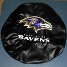 Baltimore Ravens Spare Tire Cover Universal Fit Heavy Gauge Vinyl Water Resistant Football NFL SUV