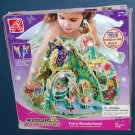 Step 2 Woodland Adventures Fairy Wonderland Playset 871000 Two Fairy Figures Made of Wood Complete