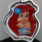 Wilton Ariel The Little Mermaid Aluminum Cake Pan Walt Disney 2105-4355 with Insert Instructions